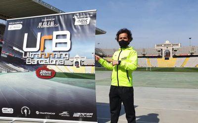 Nuevo récord de España de 12 horas en pista (158,631 km)